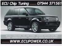 mileage correction + ecu remapping chip tuning mobile service