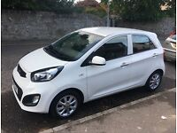 VERY LOW MILEAGE HIGH SPEC MODEL Kia Picanto 2014 VR7 1.0 5dr 12 MONTHS MOT