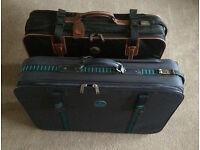2 Carlton International Suitcases