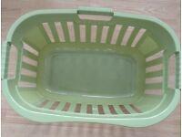 Washing basket. New