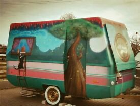 Old school food truck