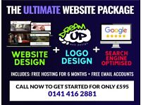 SPECIAL OFFER: The ULTIMATE Website Package - Freelance Web Designer, Developer and SEO