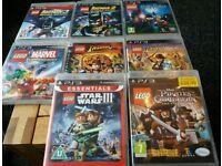 PS3 LEGO GAMES BUNDLE x 8