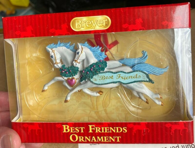 Breyer Horse Best Friends Ornament 2016 NIB
