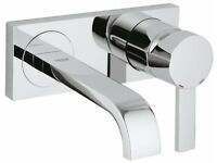 GROHE Allure 19386000 2-hole basin mixer tap