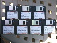 Vintage Software. Hundreds of Original Floppy Discs Windows Excel Publisher plus CDs Windows 95