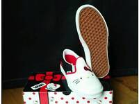 Vans, Kids Hello Kitty 40th Anniversay Slip Ons, New