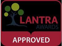 LANTRA tractor, telehandler, loading shovel and excavator training.
