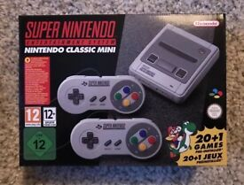 Super Nintendo SNES Classic Mini
