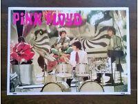 pink floyd ' vintage poster