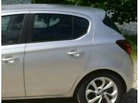 VAUXHALL CORSA E PASSANGER SIDE DOORS 5 DOOR BREAKING PARTS 2015 - 2018