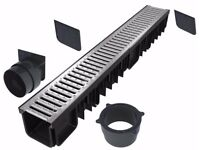 Drainage channel (All-in-one kits) | Galvanised class B125 (12.500 kg)