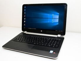 "Gaming Laptop HP Pavilion 15.6"" HD Quad Core AMD A10 @ 2.0GHz 8GB DDR3 500GB HDD Dual Graphics 2GB"