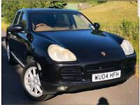CHEAPEST IN THE UK PORSCHE CAYENNE S 3.2 V6 LPG GAS CONVERSION FULLY LOADED BEIGE INTERIOR BARGAIN