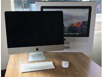 iMac 21.5inch 8GB Ram 1TB Drive (late 2015)