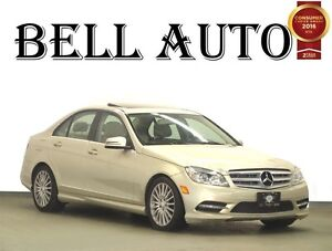 2011 Mercedes-Benz C-Class 4MATIC LEATHER SUNROOF