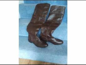 Next over the knee dark brown boots. OFFERS WELCOME