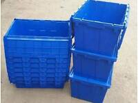 stackable storage container boxes
