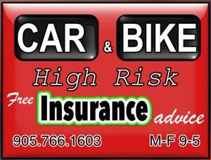 Free Insurance Advice for High Risk Drivers