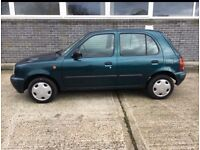 5 doors Nissan micra automatic 1.0 low mileage