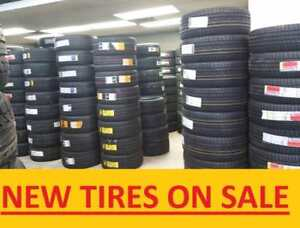 "NEW TIRES ON SALE **LOW PRICES** **SAVE BIG** 14""-24"" **3YEAR WARRANTY, FREE INSTALLATION**"