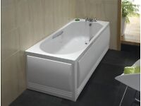 Twyford front and side bath panel