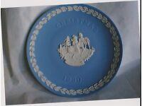 Wedgewood 1990 Christmas Plate
