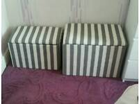 2 Storage chests. 1 month old. £25