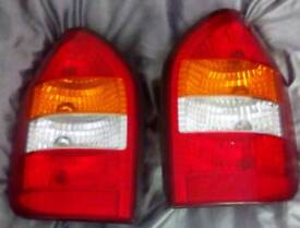 Vauxhall zafira mk1 rear lights