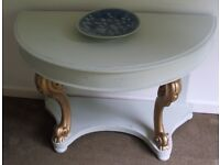 Antique table, hall table, dressing table, desk
