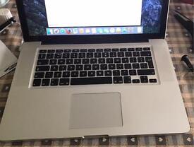"""Apple MacBook Pro 15""""(SOLD)"""