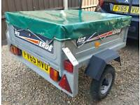 TRAILER ERDE 102 WITH COVER