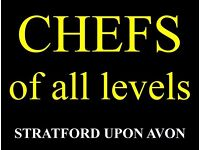 Chef's of all levels - Stratford upon Avon