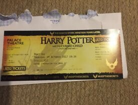 Harry Potter and the cursed child X1 ticket (part2)