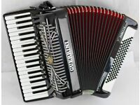 Guerrini Oxford IV Musette 96 Bass Accordion with Full Magnetic MIDI