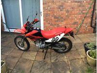 Honda XR125 - ROAD LEGAL , 125cc , ENDURO STYLE , FEW OWNERS
