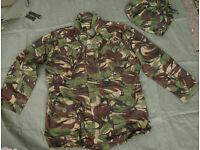 NEW - British Army Issue - DPM Ripstop CS95 Field Jacket + Matching Hood - 180/104