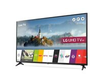 "LG 49"" SMART 4K Ultra HD HDR LED TV 49UJ630V Freeview Play USB Record (2017 Model)"