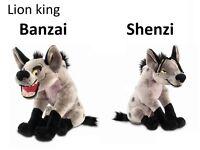 WANTED - Lion King Hyena Plush, soft toy Teddy, Disney