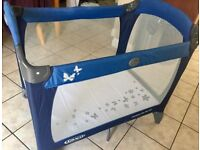 Graco Contour On the Go Travel Cot (Blue)