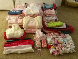 Baby girl clothes 0-3 months £45 ONO