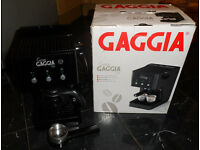 Gaggia Gran Style Espresso Machine Black very good condition with box!!! free delivery!!!
