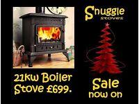 Stove. Boiler