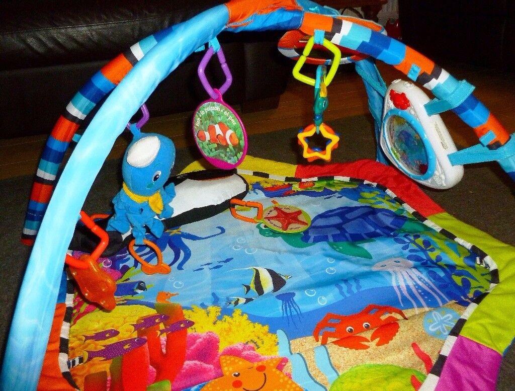 9eee8d97c Baby Neptune Ocean Adventure floor gym (by Baby Einstein)
