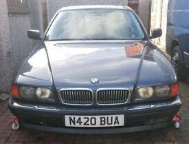 1995 BMW 740IL E38 4.0L V8 32V LWB RARE RESTORATION PROJECT SPARES OR REPAIR