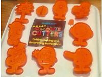 Set of 9 Vintage Mister Men Cookie Cutters