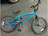 Mongoose blue BMX bike