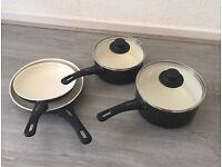 Ceramic pots kitchen set Vita Green