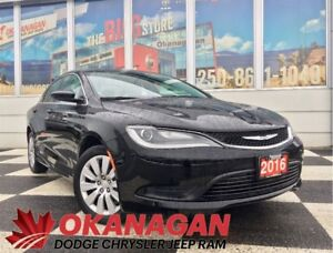 2016 Chrysler 200 LX | Super LOW KMS | Remaining Warranty