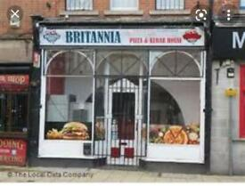 Fast food Takeaway for rent in Mansfild city centre
